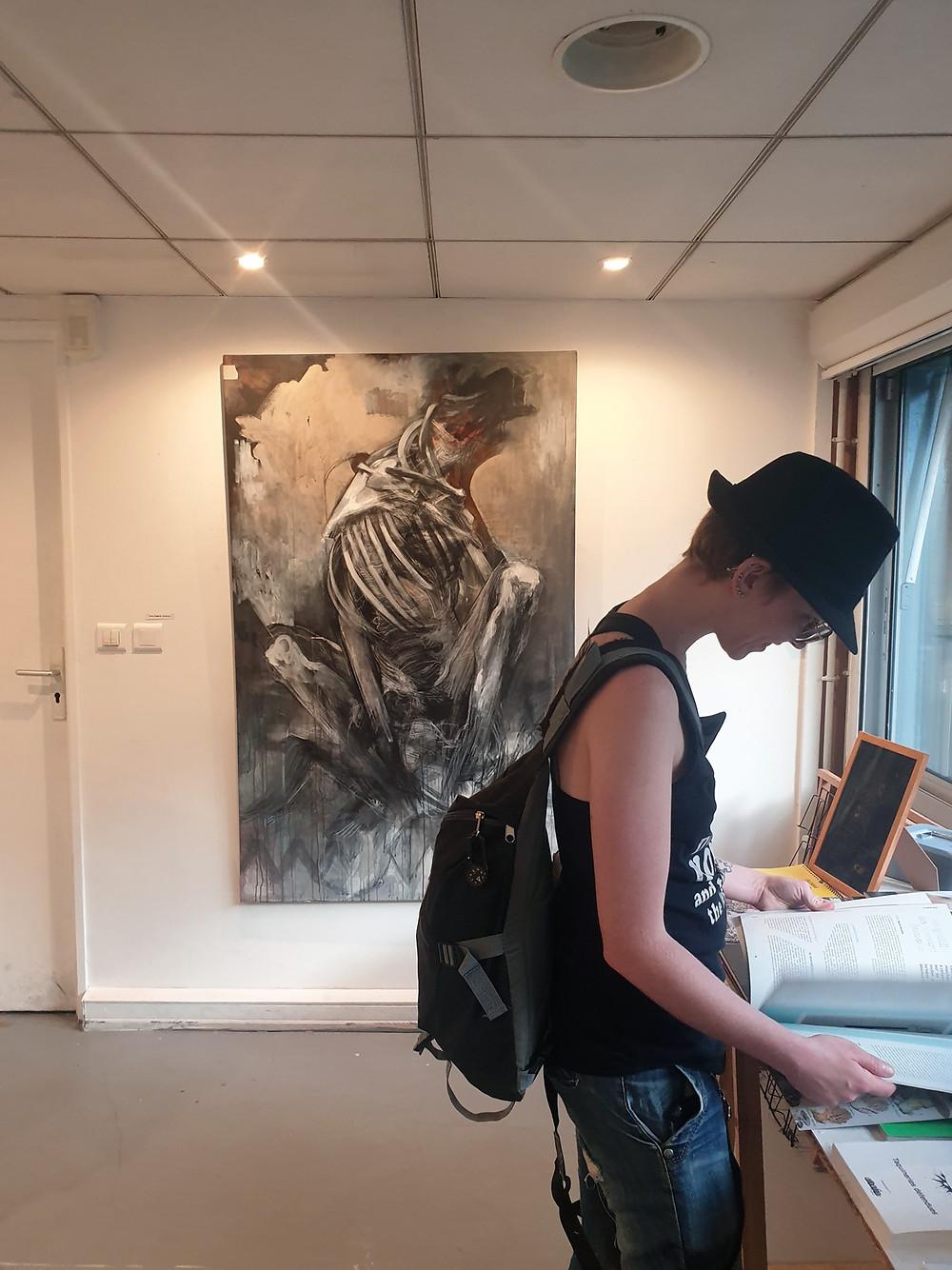 Carcasse, OpenBack gallery, Paris, France_ September 2019