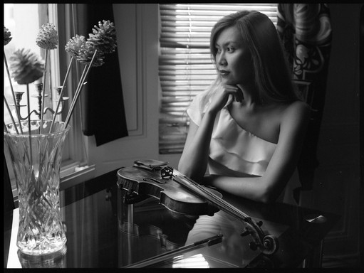 10.Rina, the Violinist. 'I am your Mirror' PHOTOGRAPHY PROJECT