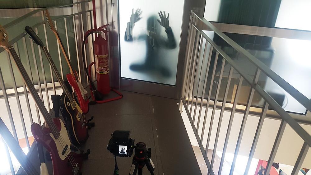 Sessione di autoritratti durante il workshop di fotografia di Loredana Denicola