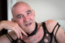 Alan, the cross-dresser, the theatre of the mind, video photography project