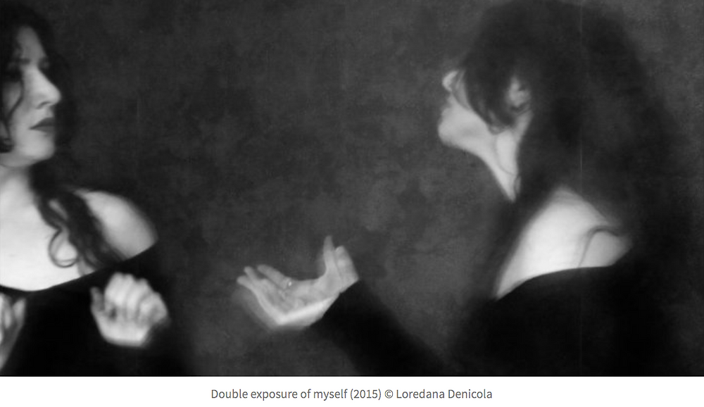 Conversation with myself ©Loredana Denicola 2015
