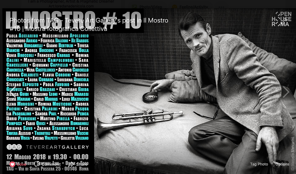 'Il Mostro#10' collective Photography Exhibition, Rome, Italy
