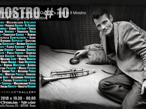 Il Mostro #10 - Collective photography Exhibition, 12 -16 May 2018, Rome - Italy