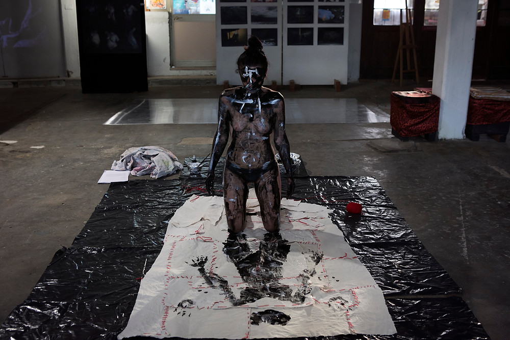I am my body, I am my memory exhibition, Officine Forte Marghera, Venezia