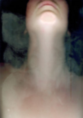 Neck, Scanning my body, photography projec