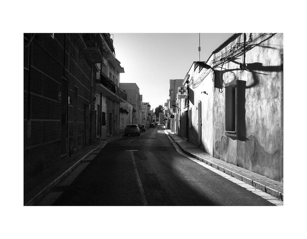 Le strade di Mesagne, puglia