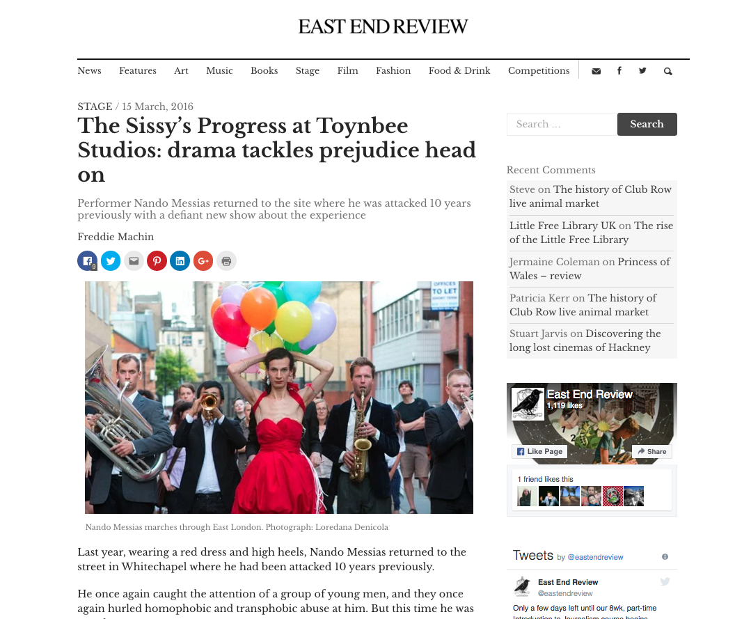 EAST END REVIEW