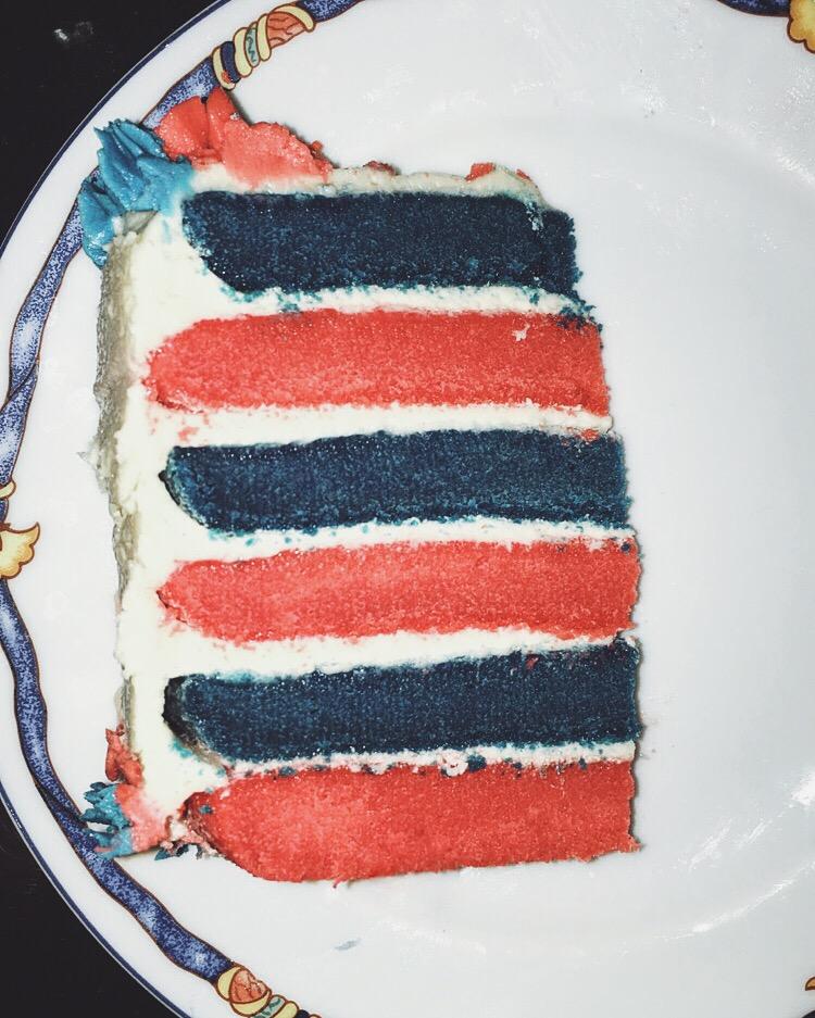 Patriotic Layer Cake