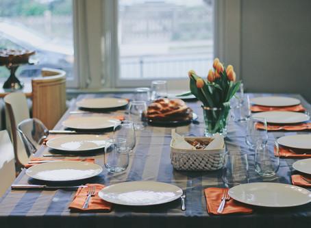Update: Senior Year, Rosh Hashanah Baking 5778