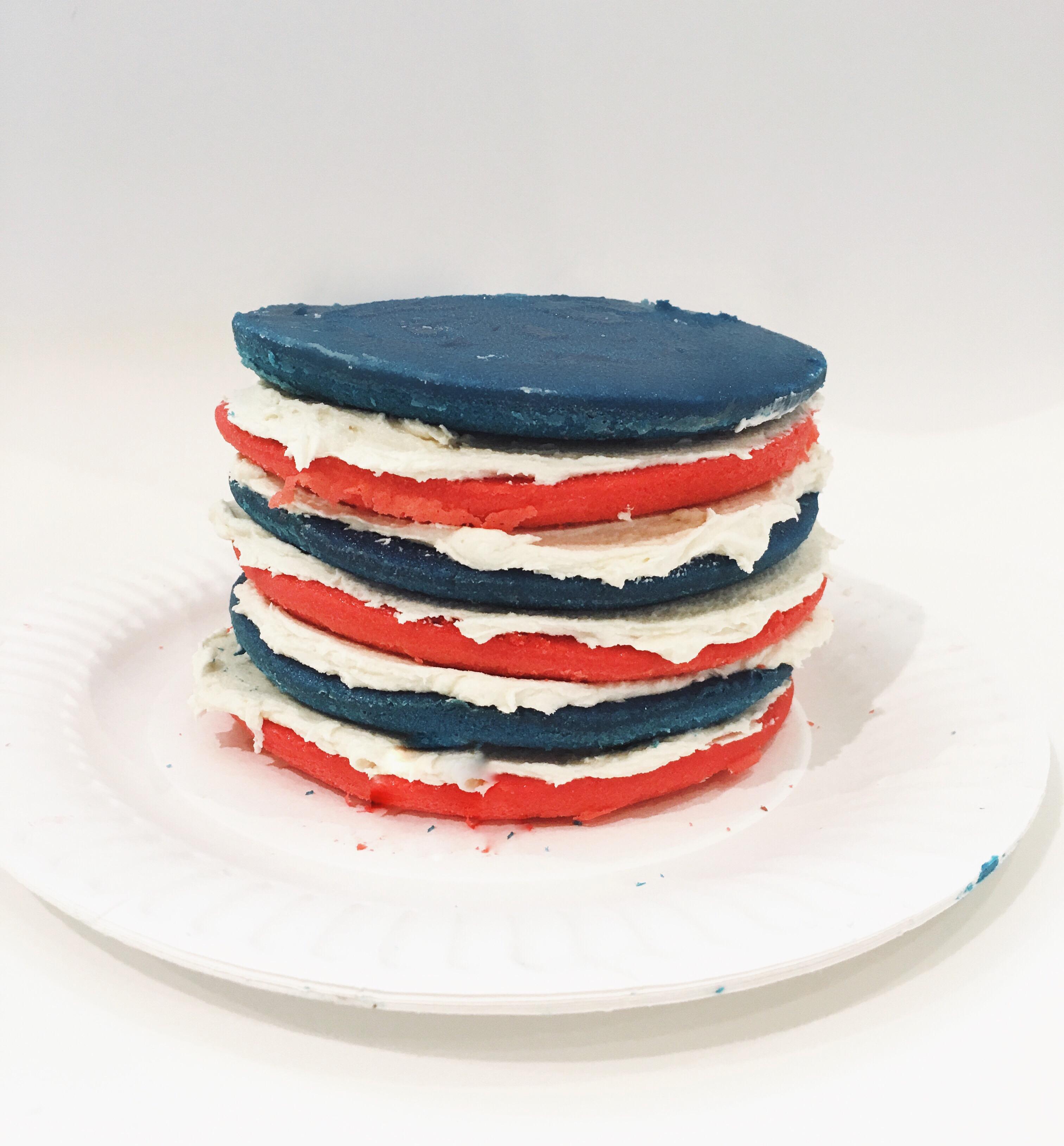 Patriotic Layer Cake 2