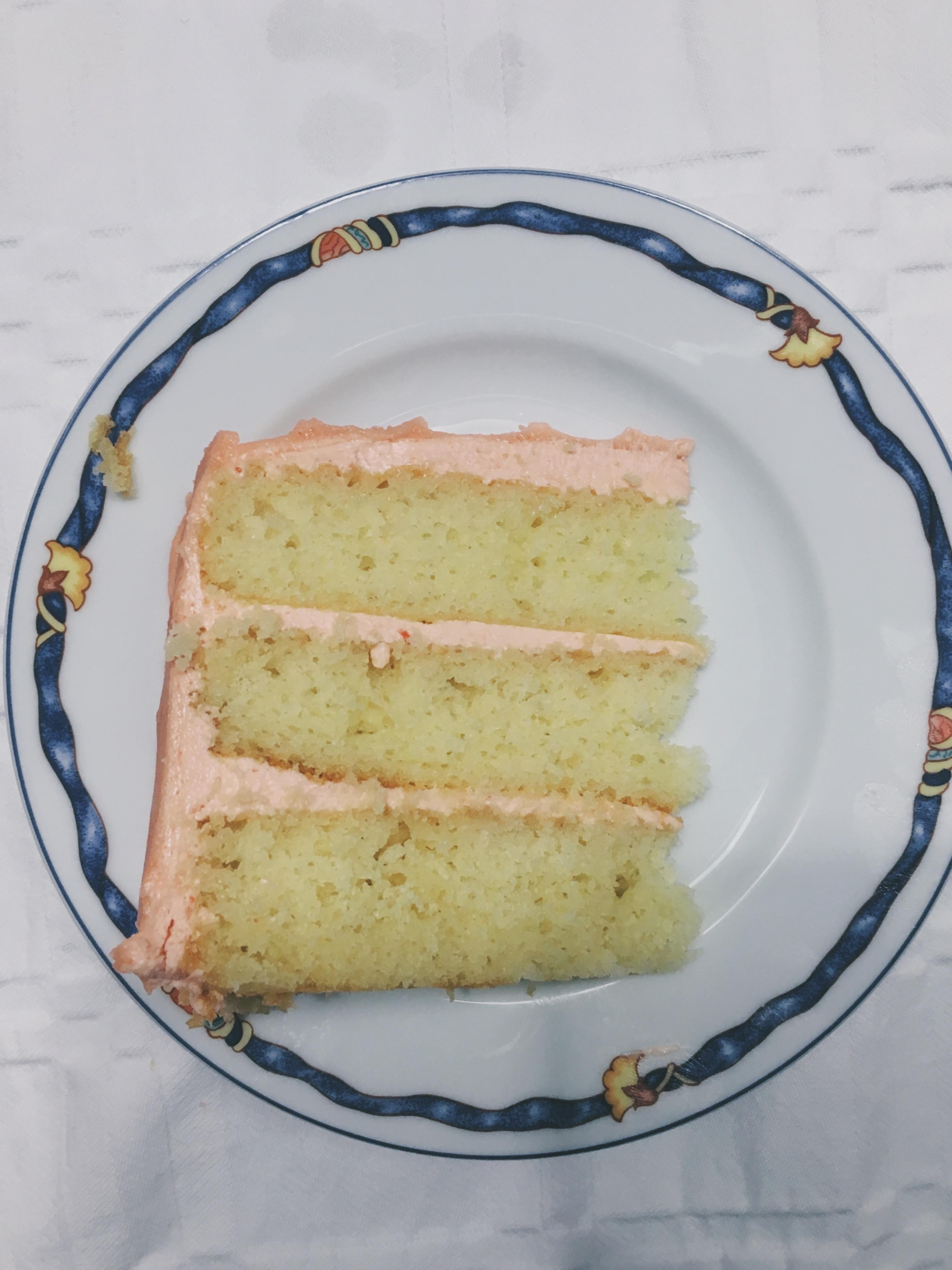 Favorite Vanilla Cake