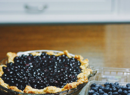 Really Easy Blueberry Pie