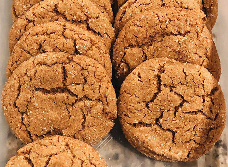 Chewy Ginger Crackles
