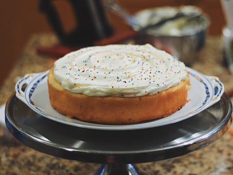 School-Night Birthday Cake