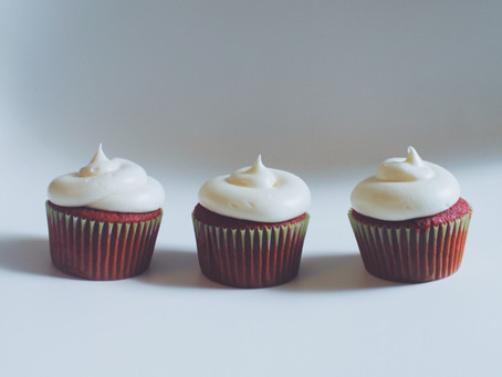 Homemade Georgetown Cupcakes!