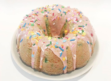 Homemade Funfetti Bundt Cake!