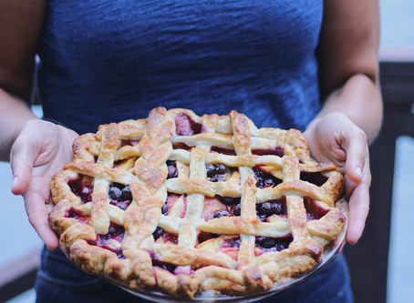 Bluberry-Nectarine Pie