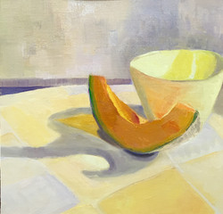 Melon with Yellow Bowl
