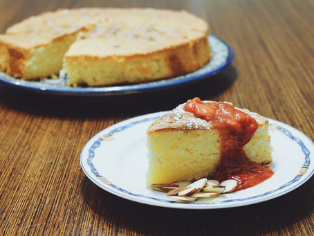 Divine Almond Cake // Updated with Variation