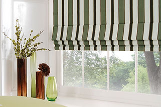 Shaped Roman Blinds 4