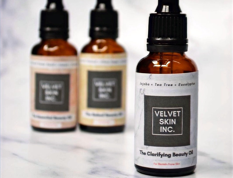 The Clarifying Beauty Oil For Blemish-Prone/Oily Skin