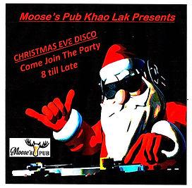 Mooses Pub Chirstmas Eve Disco