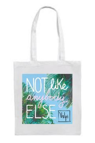 "Volpi ""Not Like Anybody Else"" Tote Bag"
