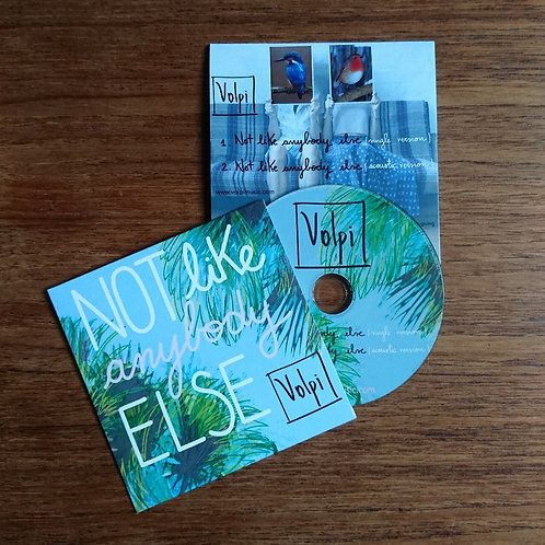 Not Like Anybody Else CD Single with EXCLUSIVE acoustic version