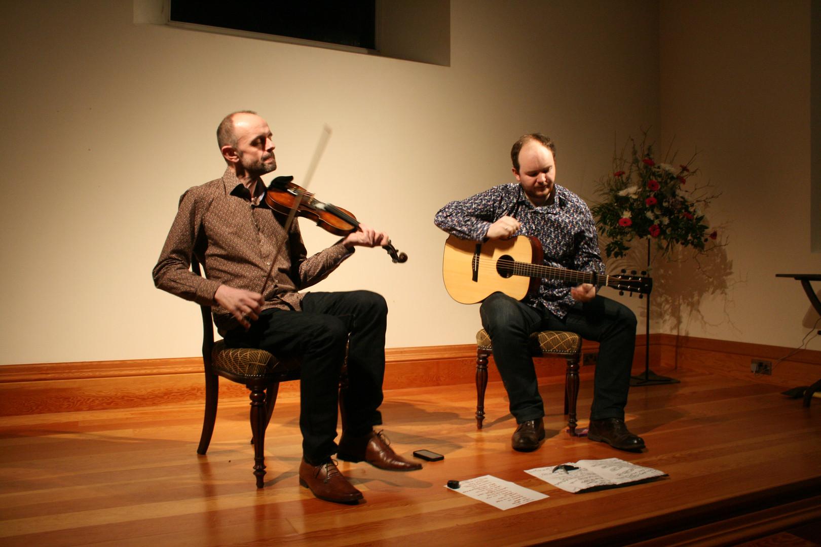 Duncan Chisholm and Matheu Watson