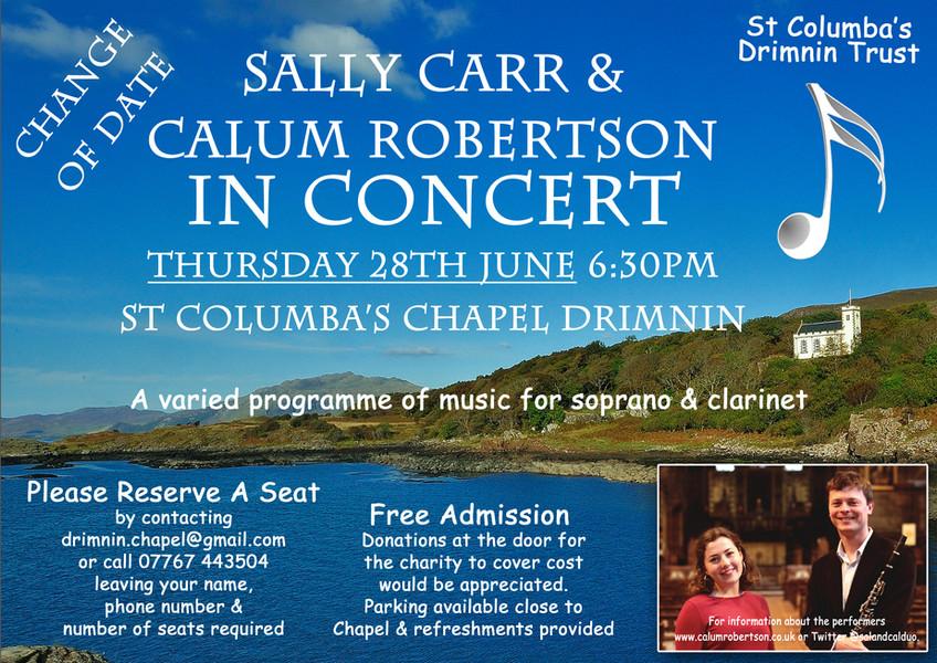 Sally Carr and Calum Robertson