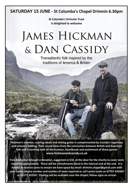 James Hickman and Dan Cassidy