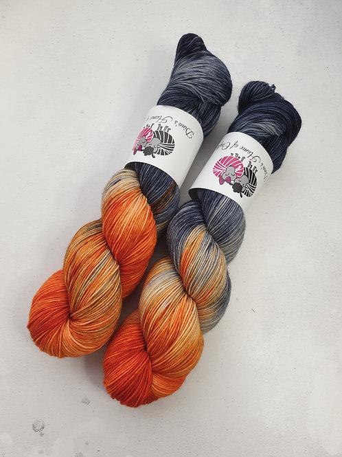 SW Merino Nylon yarn, 4-ply, Fingering weight, 100g, GYPSY