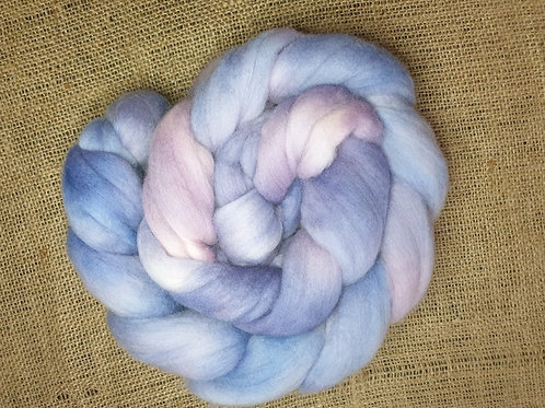 Merino roving, wool top, 100 g, MARBLES