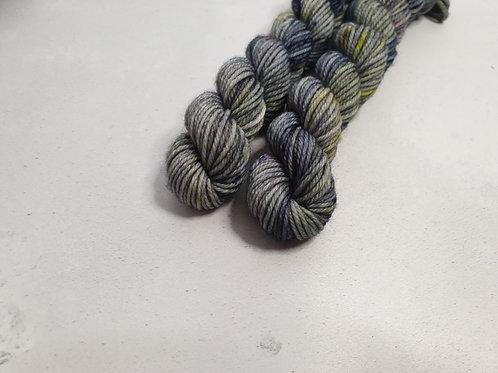 SW Merino/ Nylon, DK weight yarn, MINI #D018, 20 g