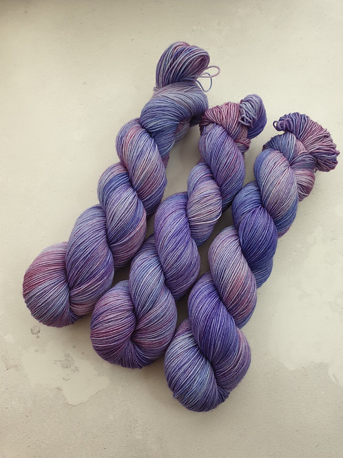 SW Merino Nylon yarn, 4-ply, Fingering weight, 100g, MARBLES