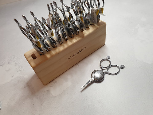 Small YARN BALL embroidery scissors, craft scissors