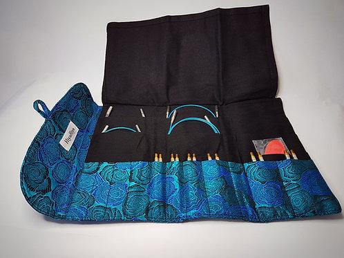"""Hiya Hiya STEEL Standard Interchangeable knitting needle set, large, 4 """""""