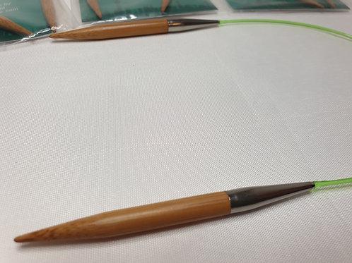 "HiyaHiya Bamboo Fixed Circular needles, 2-10 mm, 16"", 40cm"