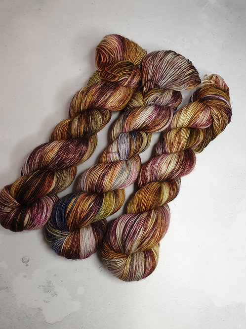 SW Merino Alpaca Nylon yarn, fingering weight, 100 g,KRAKEN