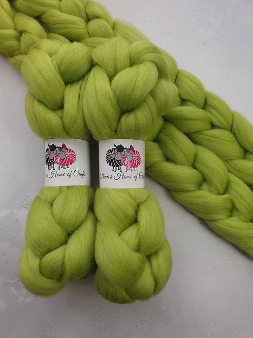 Merino roving, wool top, 100 g, CITRUS