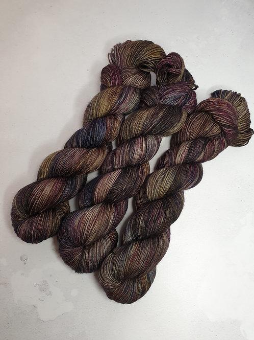 Yak, SW Merino, Nylon fingering weight yarn, 100 g, LET'S MEET AGAIN