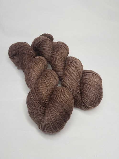 Highland wool yarn, 4-ply, Fingering weight, 100 g, TEDDY
