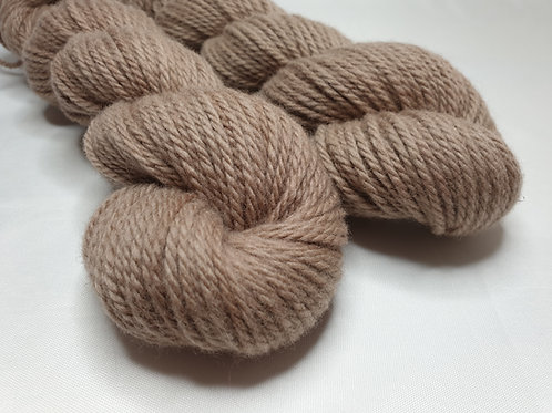 Merino woollen spun yarn, Chunky weight, 100g, SHIITAKE