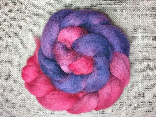 Merino roving, wool top, 100 g, BIZANTYNE