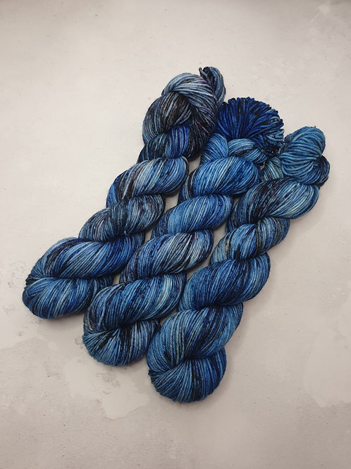 SW Merino Nylon, DK weight, 100 g, WINTER SKY