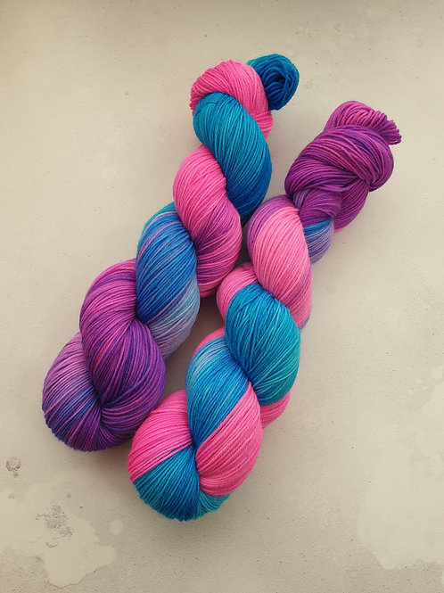 SW Merino Nylon yarn, 4-ply, Fingering weight, 100g,KIMBERLEY'S FANTASIES