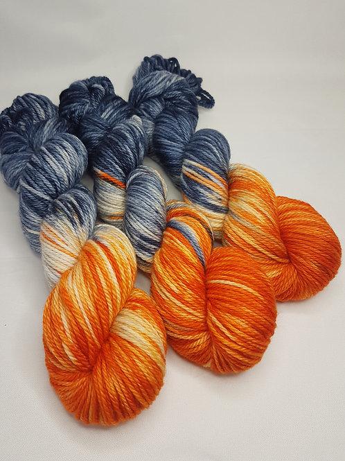 SW Merino yarn, Aran weight, 100g, GYPSY