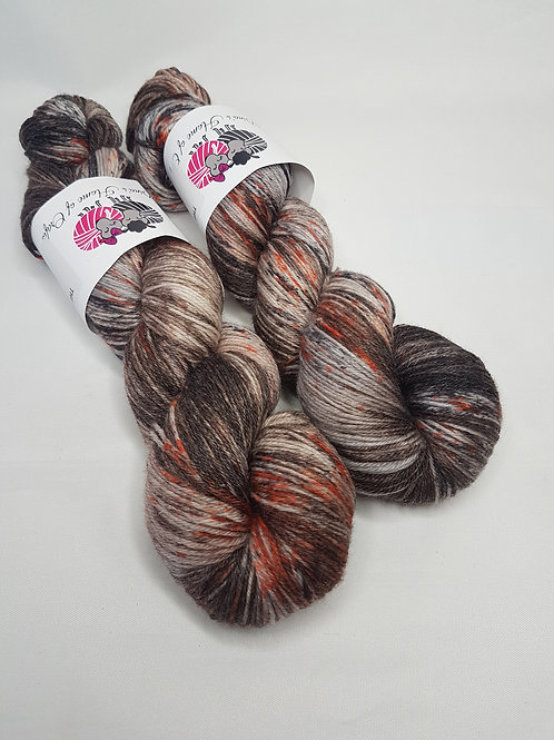 SW Merino Bamboo yarn, 4-ply, Fingering weight, 100g, THE FALL AND THE FALLEN