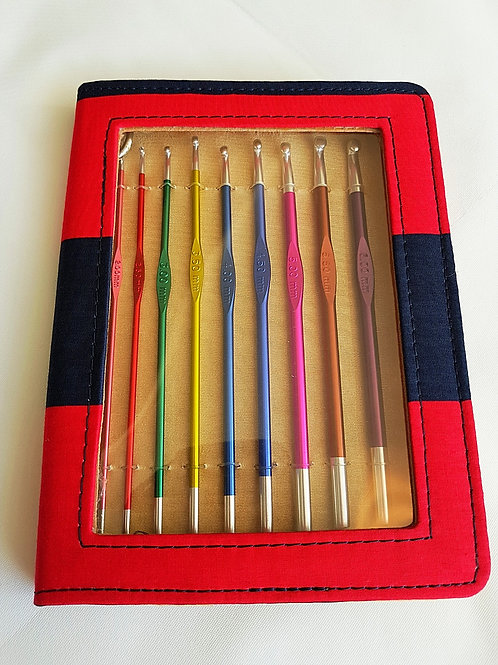 KnitPro ZING crochet hooks set, sizes 2-6mm
