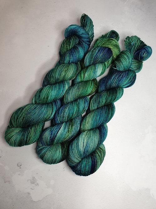 SW Merino Nylon yarn, 4-ply, Fingering weight, 100 g, GIVERNY